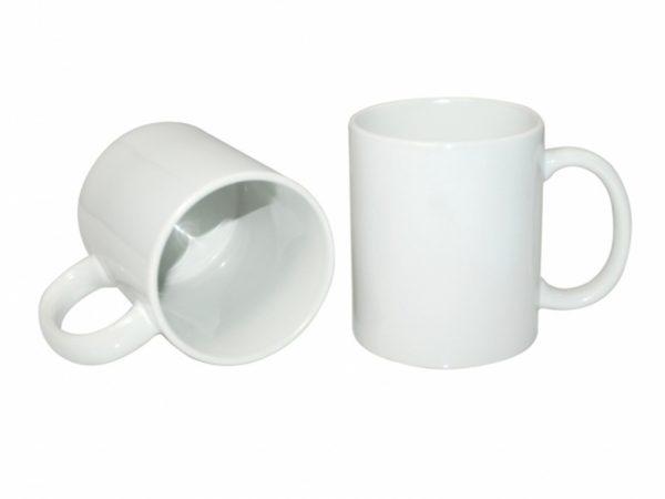 Baltas standartinis puodelis