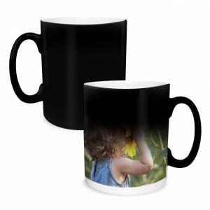 Magiškas puodelis su nuotrauka ar užrašu